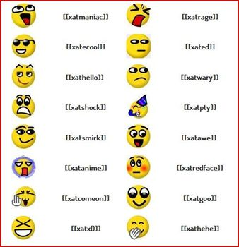 Emotion Facebook - Emoticon Facebook FB Chat